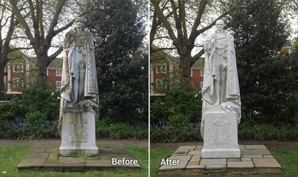 Doff Cleaning System Statue